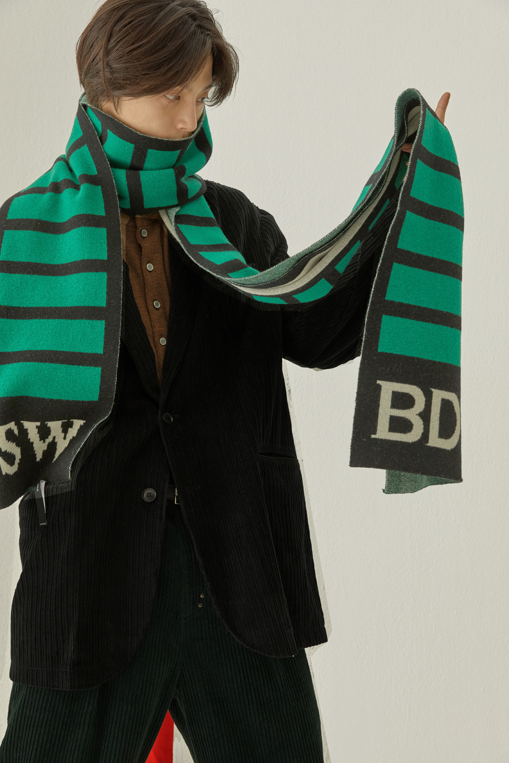 SWBD LAYER MUFFLER (GREEN)